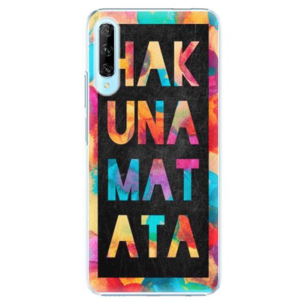 Plastové pouzdro iSaprio - Hakuna Matata 01 - Huawei P Smart Pro