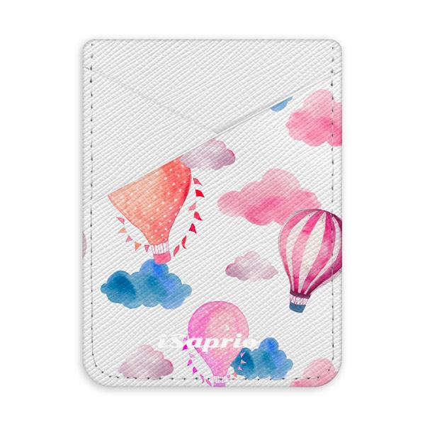 Pouzdro na kreditní karty iSaprio - Summer Sky - světlá nalepovací kapsa