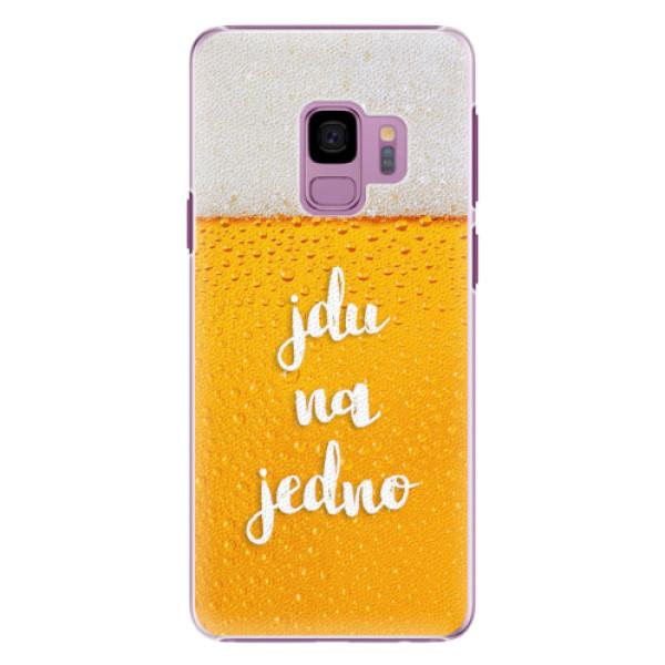 Plastové pouzdro iSaprio - Jdu na jedno - Samsung Galaxy S9