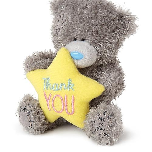 Medvídek - Děkuji