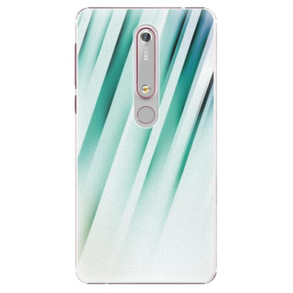 Plastové pouzdro iSaprio - Stripes of Glass - Nokia 6.1