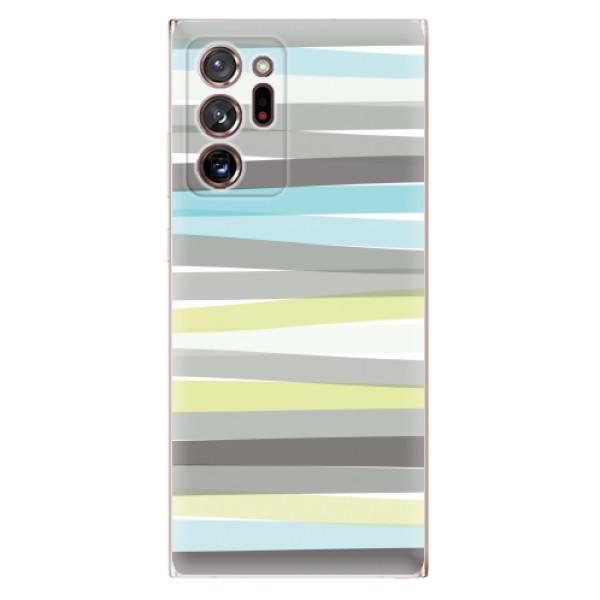 Odolné silikonové pouzdro iSaprio - Stripes - Samsung Galaxy Note 20 Ultra