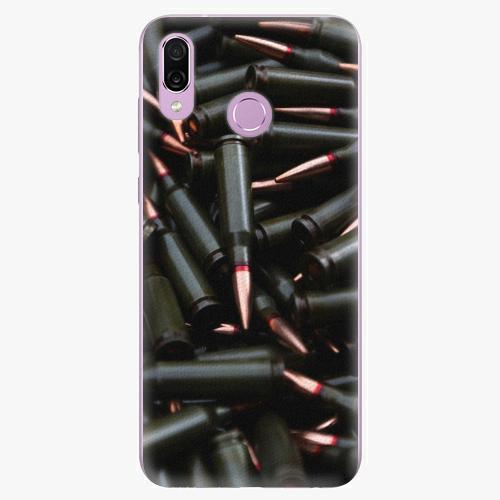Silikonové pouzdro iSaprio - Black Bullet - Huawei Honor Play