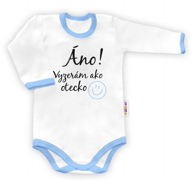 Baby Nellys Body dlouhý rukáv vel. 86,86 (12-18m)
