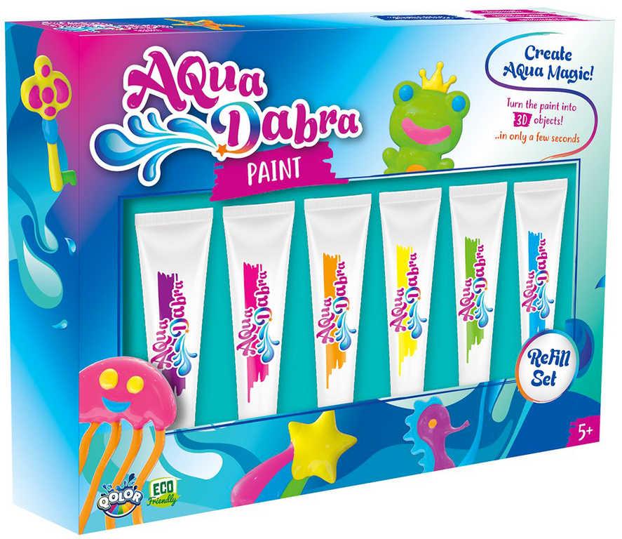 AquaDabra náhradní náplň set 6 barev v krabici
