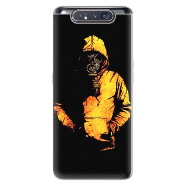 Odolné silikonové pouzdro iSaprio - Chemical - Samsung Galaxy A80