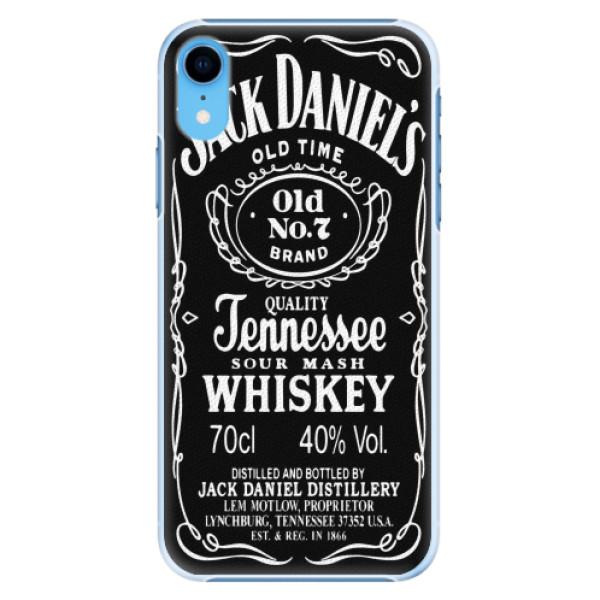 Plastové pouzdro iSaprio - Jack Daniels - iPhone XR