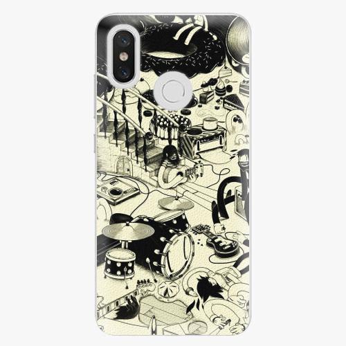 Plastový kryt iSaprio - Underground - Xiaomi Mi 8