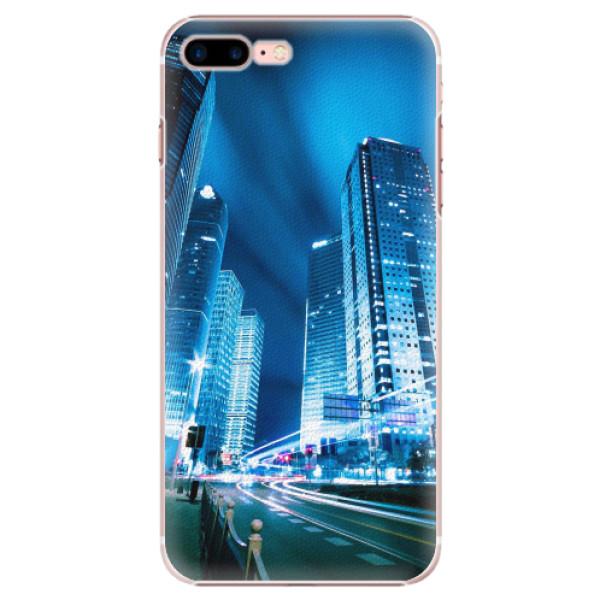 Plastové pouzdro iSaprio - Night City Blue - iPhone 7 Plus