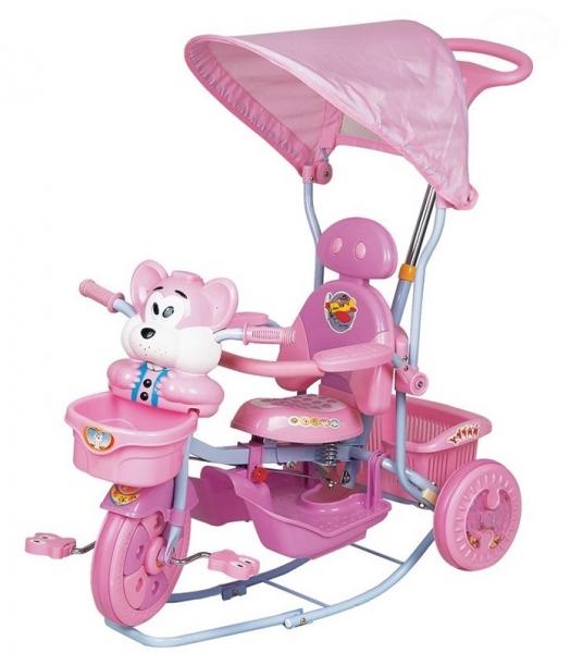 euro-baby-detska-trikolka-s-vodici-tyci-myska-ruzova