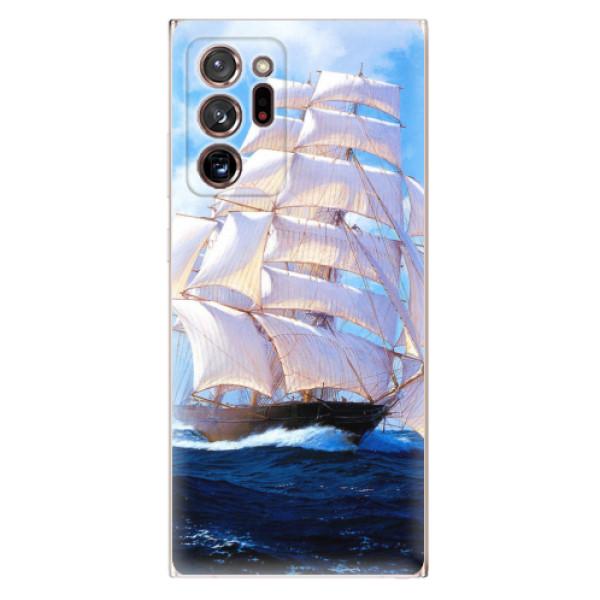 Odolné silikonové pouzdro iSaprio - Sailing Boat - Samsung Galaxy Note 20 Ultra