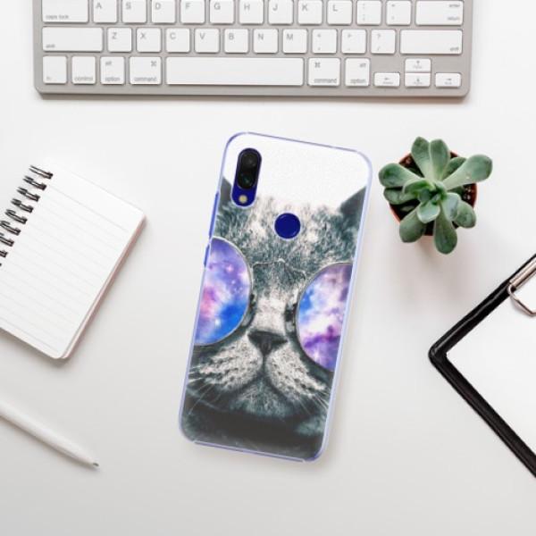 Plastové pouzdro iSaprio - Galaxy Cat - Xiaomi Redmi 7