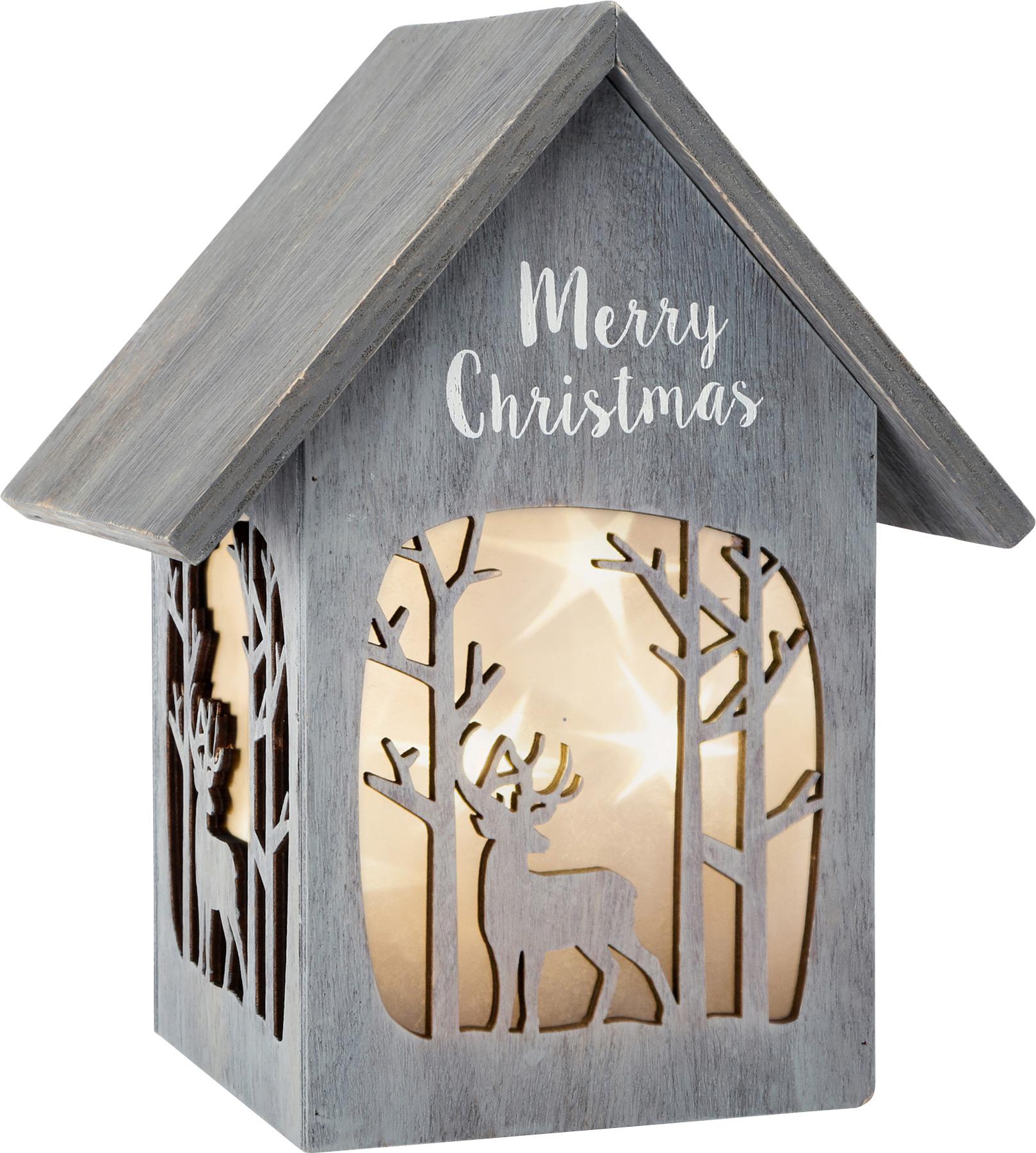 Small Foot Vánoční dřevěná lucerna Sob