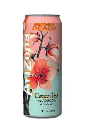 Georgia Peach Green Tea 680 ml