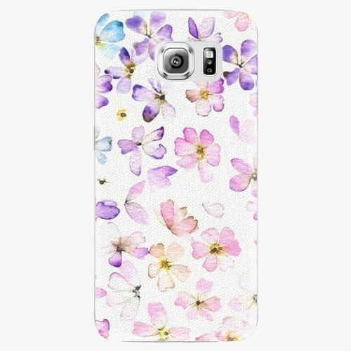 Plastový kryt iSaprio - Wildflowers - Samsung Galaxy S6 Edge Plus