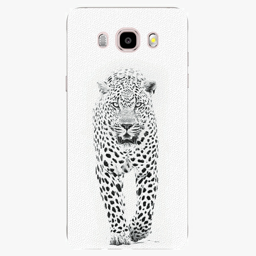 Plastový kryt iSaprio - White Jaguar - Samsung Galaxy J5 2016