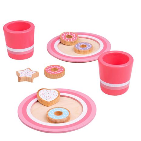 Bigjigs Toys Set na sušenky s mlékem