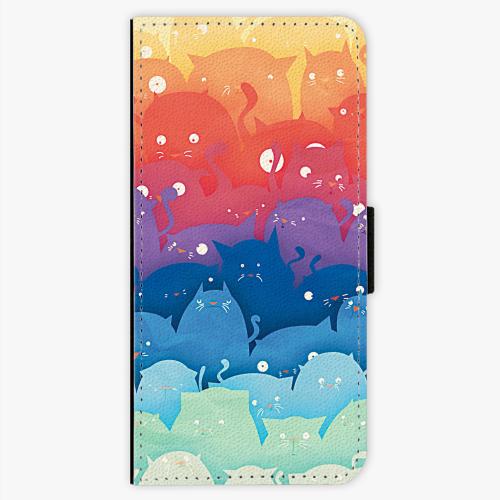 Flipové pouzdro iSaprio - Cats World - Samsung Galaxy S7 Edge