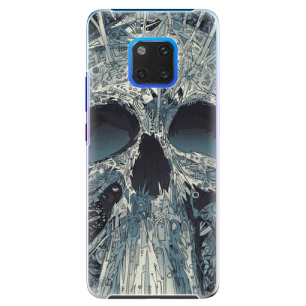Plastové pouzdro iSaprio - Abstract Skull - Huawei Mate 20 Pro