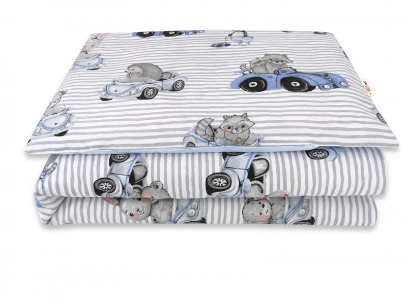 baby-nellys-2-dilne-bavlnene-povleceni-baby-car-modra-135-x-100-cm-135x100