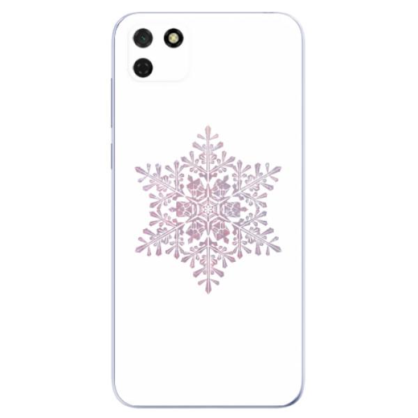 Odolné silikonové pouzdro iSaprio - Snow Flake - Huawei Y5p