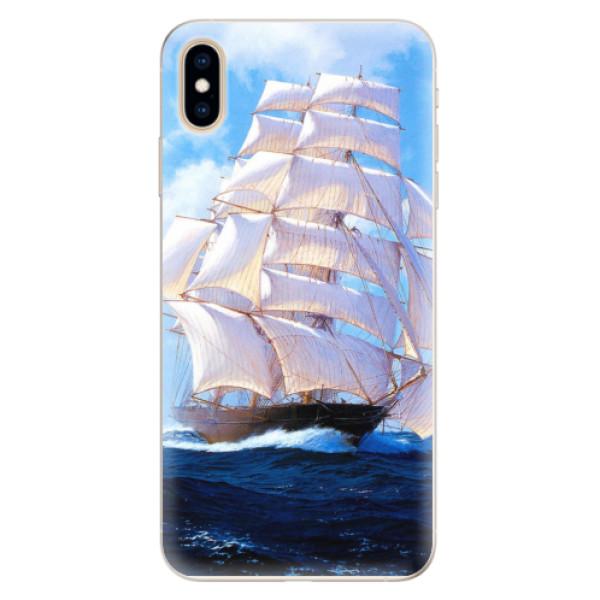 Silikonové pouzdro iSaprio - Sailing Boat - iPhone XS Max