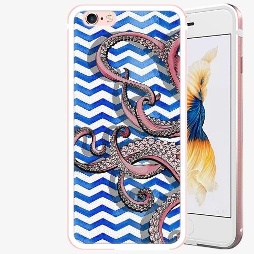 Plastový kryt iSaprio - Octopus - iPhone 6/6S - Rose Gold