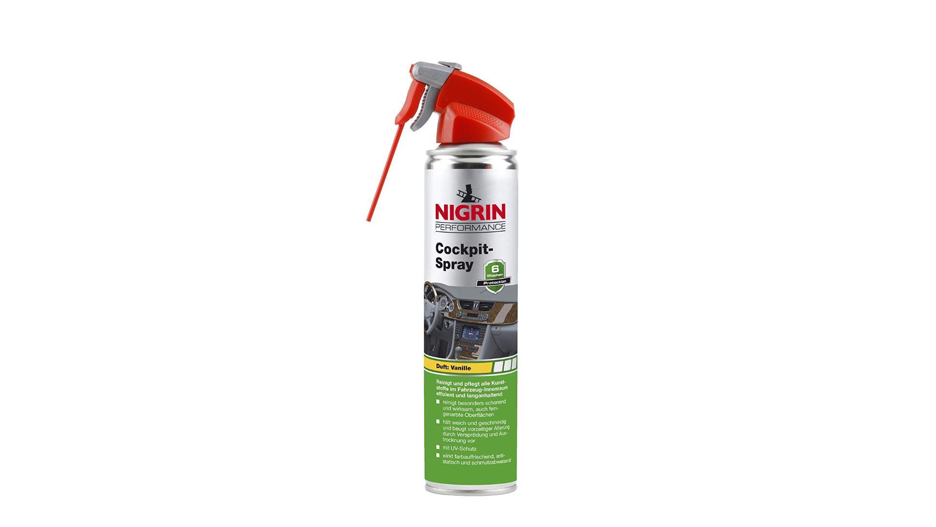 NIGRIN Cockpit spray Vanilla 400ml