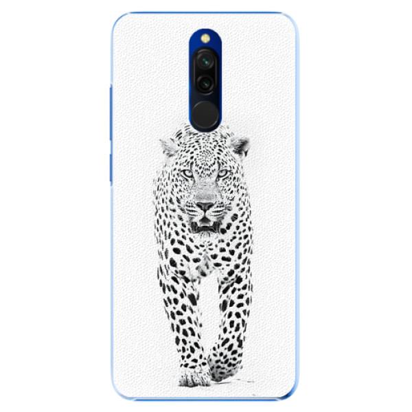 Plastové pouzdro iSaprio - White Jaguar - Xiaomi Redmi 8