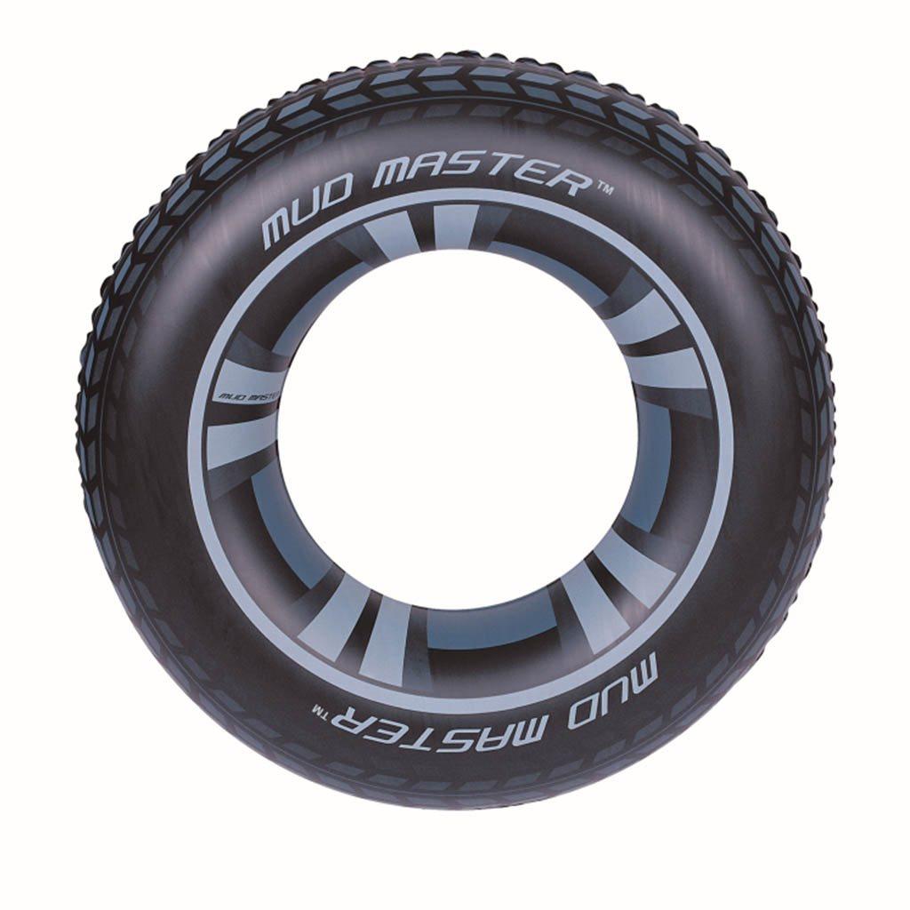 Dětský velký nafukovací kruh Bestway - černá