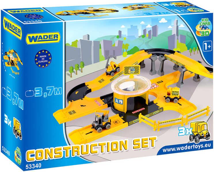 WADER Kid cars 3D stavba 53340