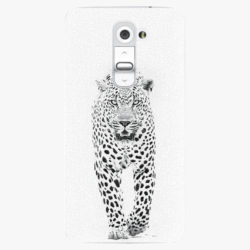 Plastový kryt iSaprio - White Jaguar - LG G2 (D802B)