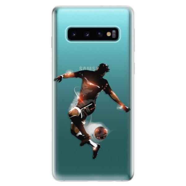 Odolné silikonové pouzdro iSaprio - Fotball 01 - Samsung Galaxy S10