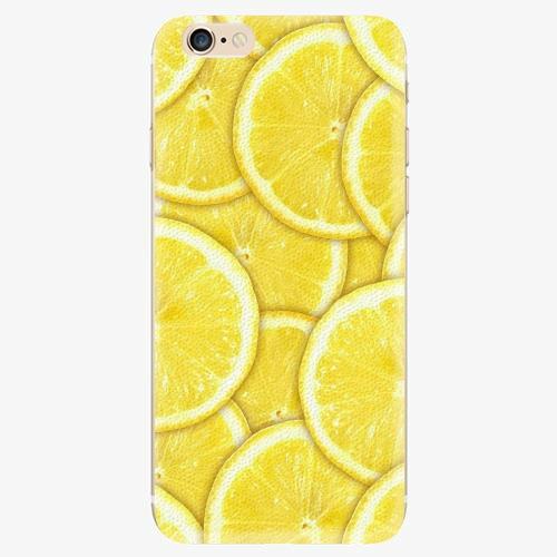 Plastový kryt iSaprio - Yellow - iPhone 6/6S