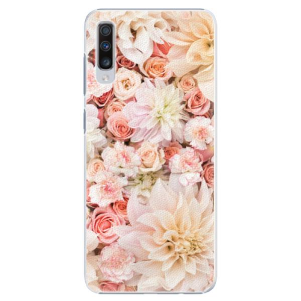 Plastové pouzdro iSaprio - Flower Pattern 06 - Samsung Galaxy A70