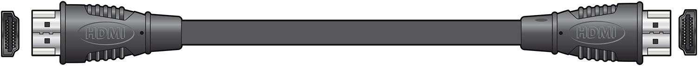 AV:link kabel 1x HDMI samec - 1x HDMI samec,3m