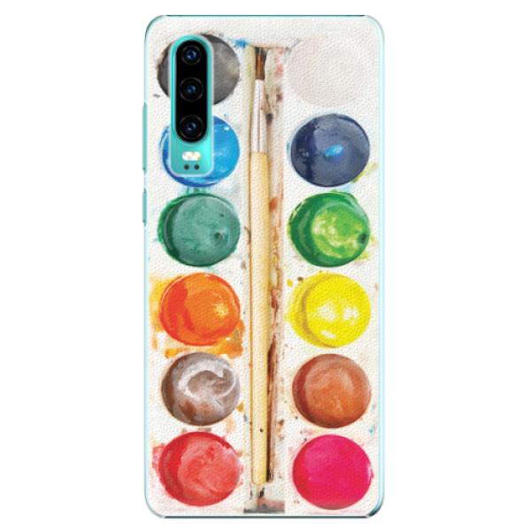Plastové pouzdro iSaprio - Watercolors - Huawei P30