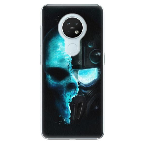 Plastové pouzdro iSaprio - Roboskull - Nokia 7.2