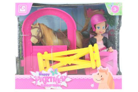 Panenka s koníkem