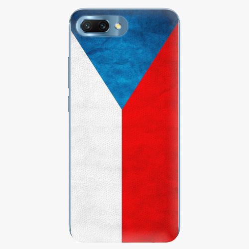 Plastový kryt iSaprio - Czech Flag - Huawei Honor 10