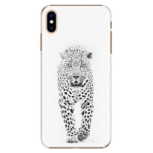 Plastové pouzdro iSaprio - White Jaguar - iPhone XS Max