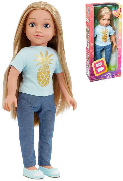 B-Friends panenka Emily 45cm blondýnka dlouhé vlasy