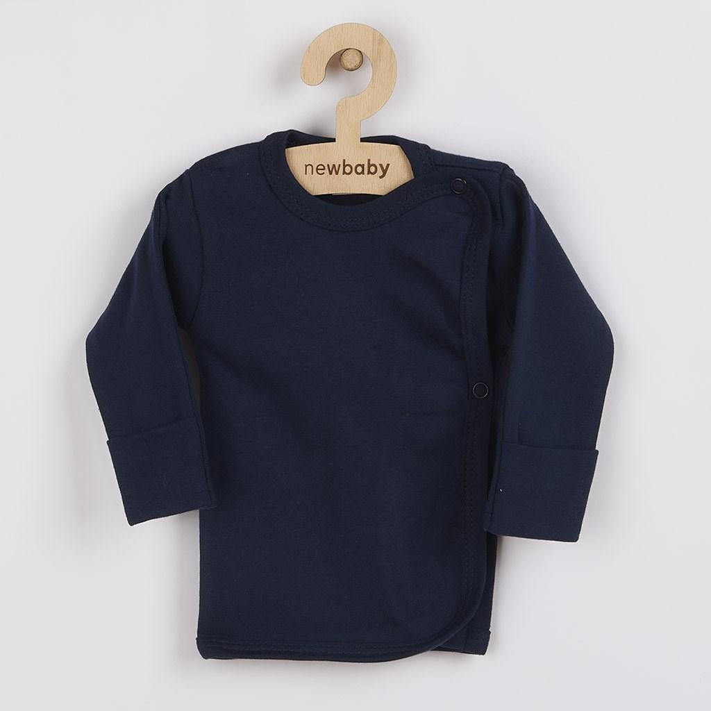 Kojenecká košilka New Baby Classic II - tmavě - modrá/50