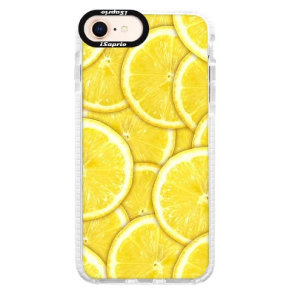 Silikonové pouzdro Bumper iSaprio - Yellow - iPhone 8