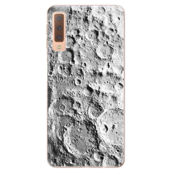 Odolné silikonové pouzdro iSaprio - Moon Surface - Samsung Galaxy A7 (2018)