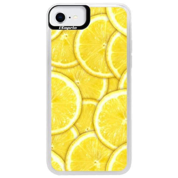 Neonové pouzdro Blue iSaprio - Yellow - iPhone SE 2020
