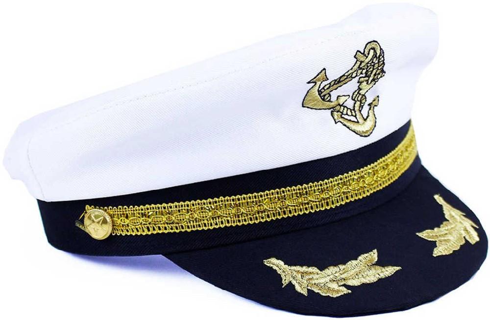 KARNEVAL Čepice námořník kapitán dospělá KARNEVALOVÝ DOPLNĚK