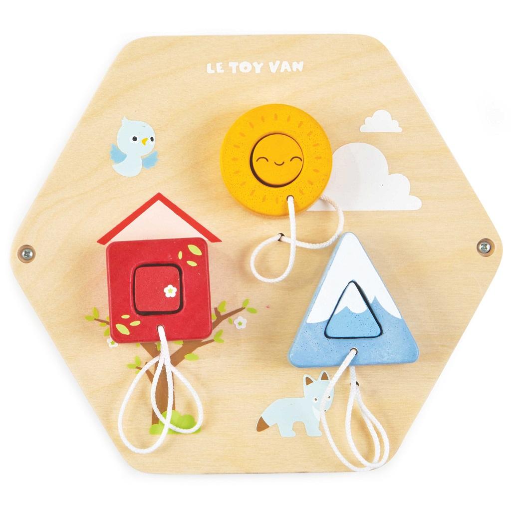 Le Toy Van Petilou hrací panel tvary