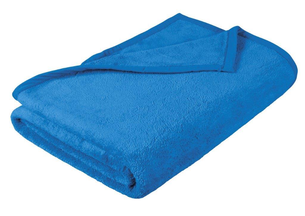 Dětská micro deka 100x150cm modrá