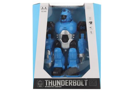 Robot modrý na baterie